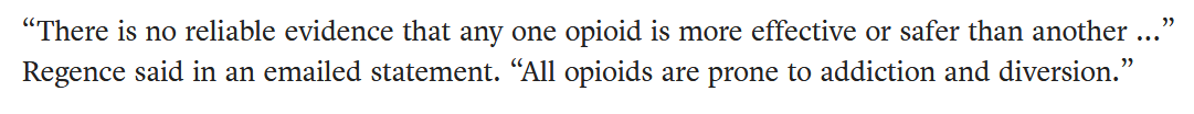 all opioids are addictive